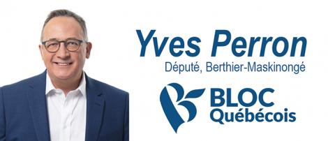 Député fédéral Yves Perron