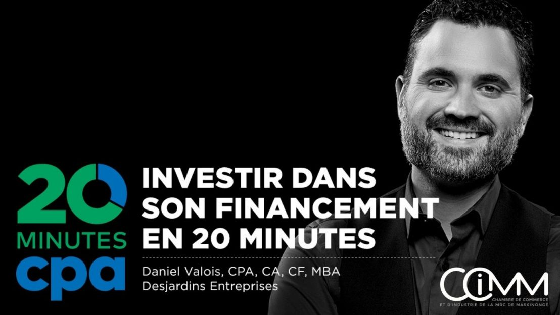 Les 20 minutes CPA: Investir dans son financement