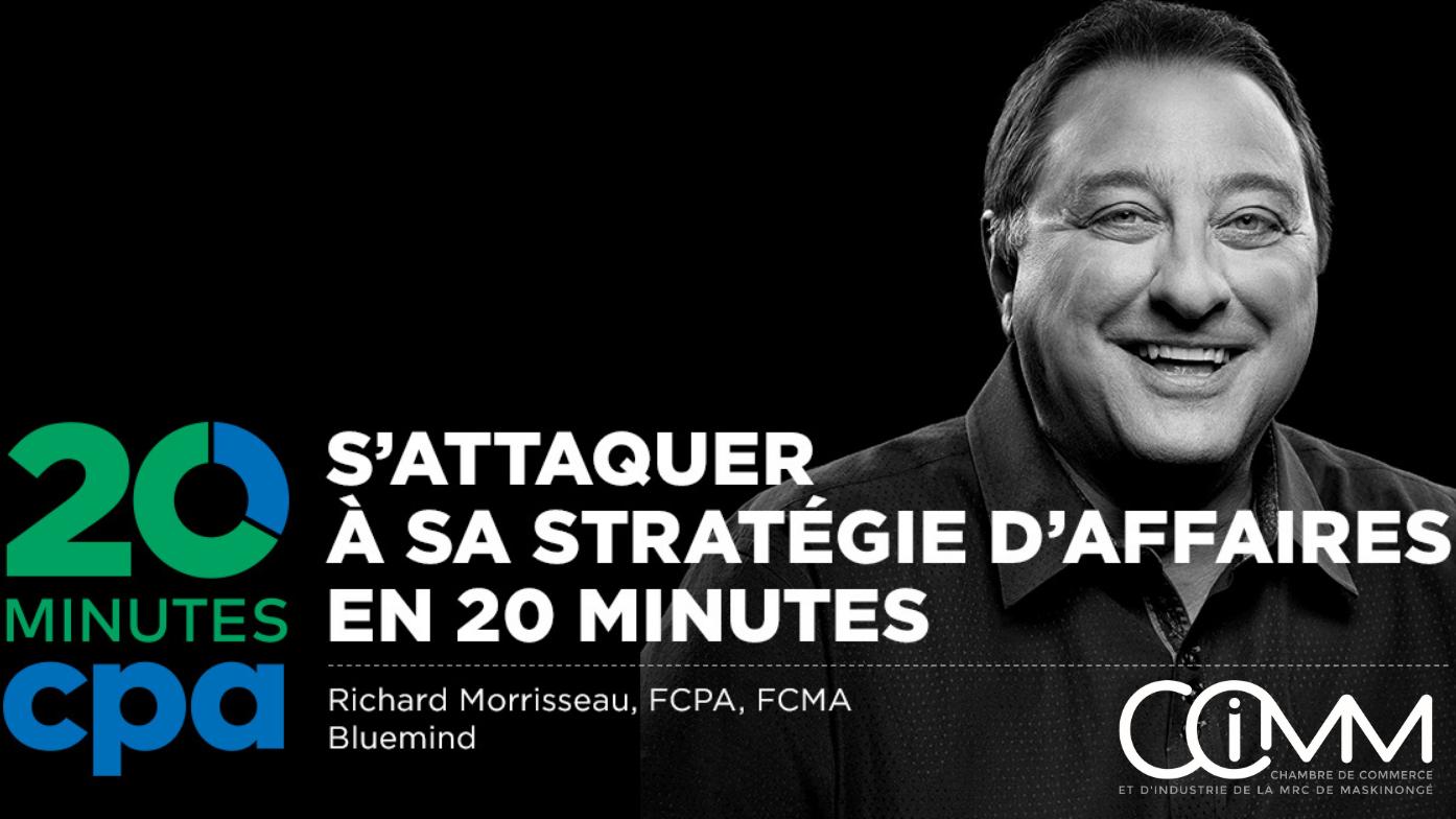 Les 20 minutes CPA: S'attaquer à sa stratégie d'affaires
