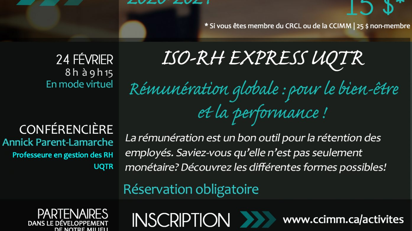 ISO-RH EXPRESS UQTR