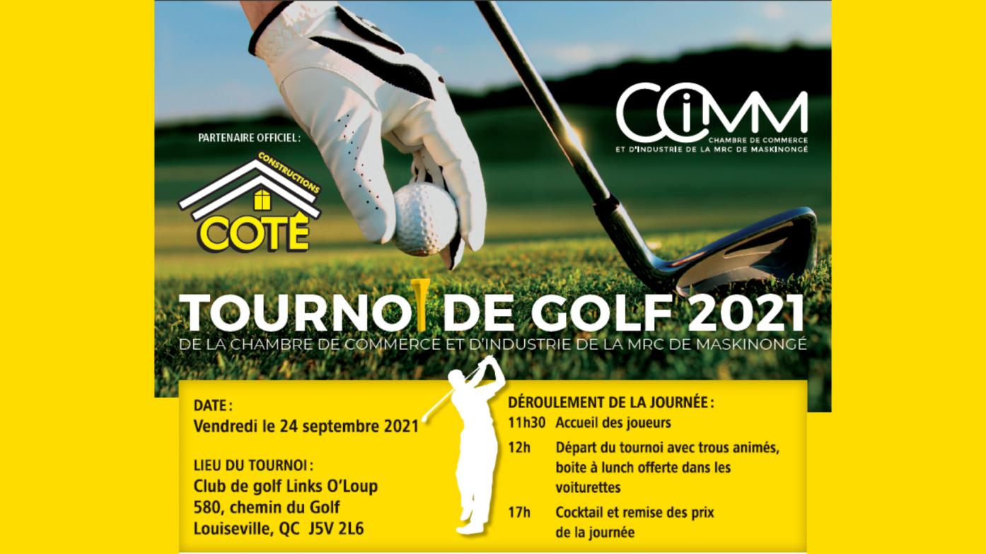Tournoi de Golf de la CCIMM